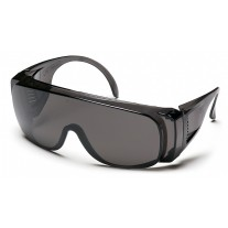 Pyramex S520S Solo Safety Glasses - Gray Frame - Gray Lens