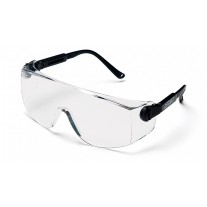 Pyramex Defiant SB1010S Safety Glasses - Black Frame - Clear Lens