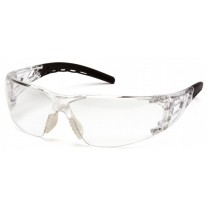 Pyramex Fyxate SB10210S Safety Glasses - Clear Frame - Clear Lens