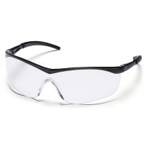 Pyramex Mayan SB2610D Safety Glasses - Black Frame - Clear Lens