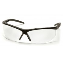 Pyramex Pacifica SB3410S Safety Glasses - Black Frame - Clear Lens - (CLOSEOUT - LIMITED STOCK AVAILABLE)