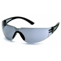 Pyramex Cortez Safety Glasses, Black Temples, Gray Lens
