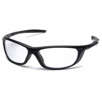 Pyramex Azera SB4410D Safety Glasses - Black Frame - Clear Lens - (CLOSEOUT- LIMITED STOCK AVAILABLE)