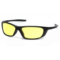 Pyramex Azera SB4430D Safety Glasses - Black Frame - Amber Lens