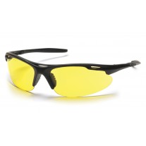 Pyramex SB4530D Avanté Safety Glasses - Black Frame - Amber Lens