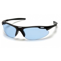 Pyramex Avanté Safety Glasses, Black Frame, Infinity Blue Lens