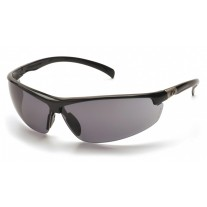 Pyramex Forum Safety Glasses, Black Frame, Gray Lens  (CLOSEOUT - LIMITED AVAILABILITY)