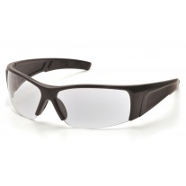 Pyramex SB6910D PMXTORQ Safety Glasses Matte Black Frame Clear Lens