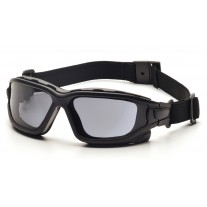 Pyramex I-Force Safety Glasses - Black Frame - Gray Anti-Fog Lens