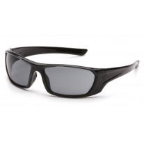 Pyramex SB8020D Outlander Safety Glasses Black Frame Gray Lens