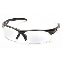 Pyramex SB8110D Ionix Safety Glasses Black Frame Clear Lens
