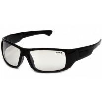 Pyramex SB8580DT Furix Safety Glasses - Black Frame - Indoor/Outdoor Mirror Ant-Fog Lens - (CLOSEOUT - LIMITED AVAILABILITY)