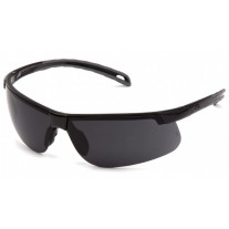 Pyramex Ever-Lite Safety Glasses, Black Frame, Dark Gray Lens