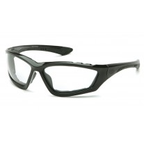 Pyramex SB8710DTP Accurist Safety Glasses - Black Frame - Clear Anti-Fog Lens