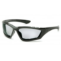 Pyramex SB8725DTP Accurist Safety Glasses - Black Frame  Light Gray Anti-Fog Lens