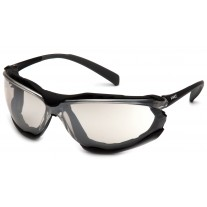 Pyramex SB9380ST Proximity Safety Glasses - Black Frame - Indoor / Outdoor Lens