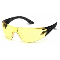 Pyramex SBG9630S Endeavor Plus Dielectric Safety Glasses Black/Gray Frame Amber Lens