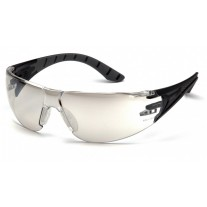 Pyramex SBG9680S Endeavor Plus Dielectric Safety Glasses - Black/Gray Frame - Indoor /Outdoor Lens