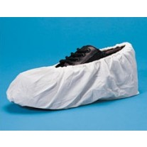 Keystone Shoe Cover - HD Cross Linked Polyethylene - Water Resistant - 150 Pairs/Case - Large - LIMIT 2 BOXES PER CUSTOMER / ADDRESS