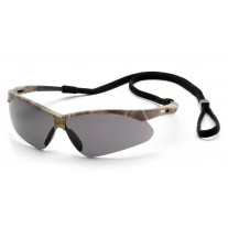 Pyramex SCM6320STP PMXTREME Safety Glasses - Camo Frame - Gray Anti-Fog Lens with Cord