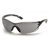 Pyramex Achieva Safety Glasses, Gray Temples Frame, Gray Lens