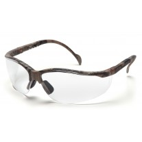 Pyramex Venture II Safety Glasses, Real Tree HW Frame, Clear Lens