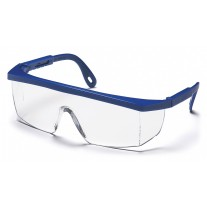 Pyramex SN410S Integra Safety Glasses Blue Frame Clear Lens