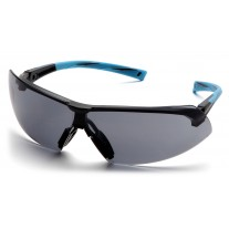 Pyramex SN4920S Onix Safety Glasses Blue Frame Gray Lens (Closeout - Limited Stock)