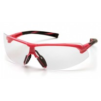 Pyramex SP4910S Onix Safety Glasses - Pink Frame - Clear Lens - (CLOSEOUT - LIMITED STOCK AVAILABLE)