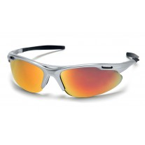 Pyramex SS4545D Avanté Safety Glasses - Silver Frame - Ice Orange Lens