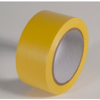 """Incom PST210 Safety Yellow Aisle Tape - 2"""" x 108'"""