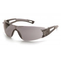 Pyramex Endeavor Translucent Gray Temples, Gray Lens