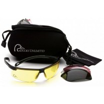 Ducks Unlimited DUCAB2 Ever-Lite Shooting  Glasses Combo Kit