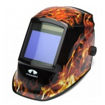 Pyramex WHAM3030FL Flame Decorated Auto Darkening Welding Hood