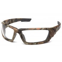 Venture Gear VGSCM1010DTB Brevard Safety Glasses - Camo Frame - Clear Anti-Fog Lens - (CLOSEOUT)