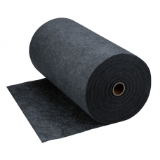 "NoTrax 048 Grip-Sorb Absorbent Runner 34"" x 100' - Charcoal"