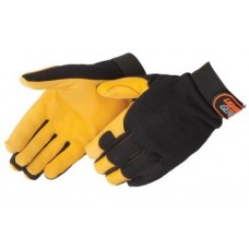 Liberty 0918 Lightning Gear GoldenKnight Premium Grain Deerskin Mechanic Glove, Pair