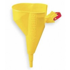 Justrite 11202Y Polypropylene Funnel For Type I Cans