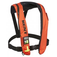 Kent 132802-200-004-19 A/M 33 All Clear Inflatable Life Jacket (PFD) - Adult Universal - Orange