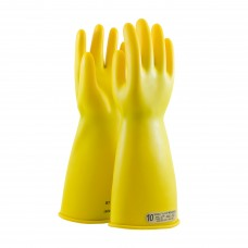 NOVAX Class 00 Rubber Insulating Glove with Straight Cuff - 14""