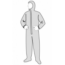 Liberty 18122 PermaGard Coverall - Attached Hood & Boots - 25 / Case