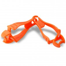 Ergodyne Squids 3400 Dual Clip Glove Grabber, Orange