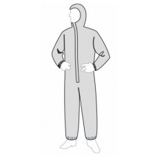 Liberty 19127 ProGard Hooded SMS Coverall - Elastic Wrists & Ankles - 25/Case - LIMIT 2 BOXES PER SIZE PER CUSTOMER / ADDRESS