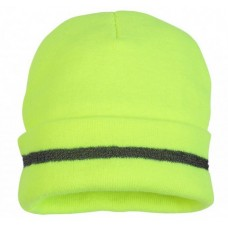 Pyramex RH110 Hi Vis Yellow Safety Beanie