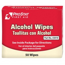 ProStat 2010 Alcohol Wipes - 50 Count