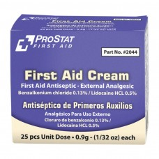 ProStat 2044 First Aid Cream .9g - 25 Count