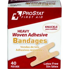 ProStat 2187 Bandage Heavy Woven Knuckle - 40 Count