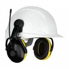 Hellberg 264-45102 Relax™ Cap Mounted Electronic Ear Muff with AM/FM Radio - NRR 23