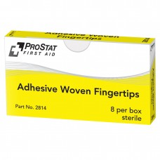 ProStat 2814 Adhesive Woven Fingertips - 8 Count