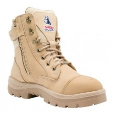 "Steel Blue Southern Cross Zip 6"" Work Boots - Steel Toe"